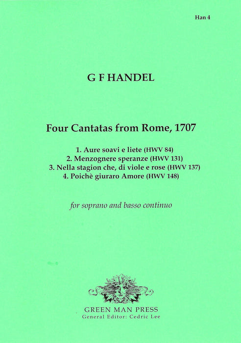 Handel: Four Cantatas from Rome (1707)