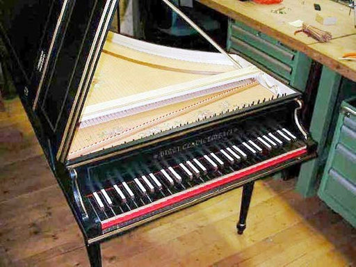 Bizzi Continuo Harpsichord 2x8' stops, buff stop and stand