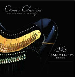 2nd Octave D - Standard Gauge Classique Gut Harp String by Camac - CAM6BC09