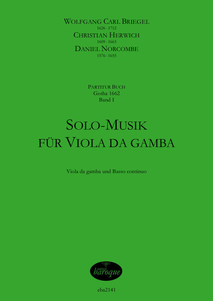 Various: Solo Music for Viola da Gamba and Basso Continuo