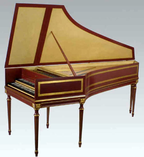 Bizzi French Double Manual Harpsichord 'Goermans-Taskin'