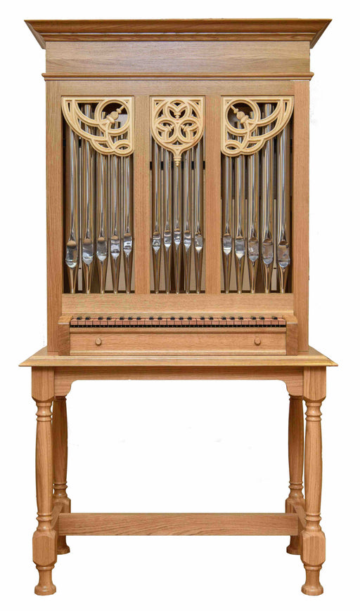 Skrabl 4ft Portative Organ - (finished organ) - including table and stool
