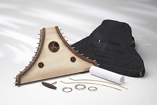 EMS Plucked Psaltery Kit with Padded Case