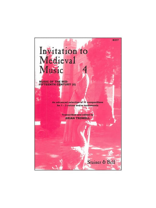 Various: Invitation to Medieval Music - Book 4