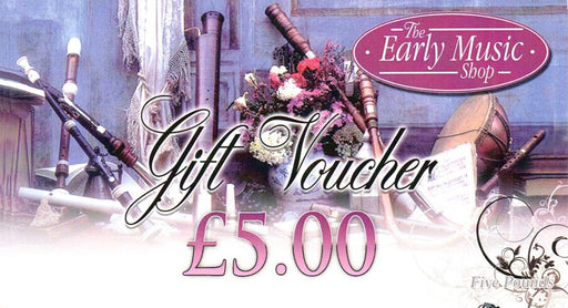EMS Gift Voucher £5.00 - for use in store only