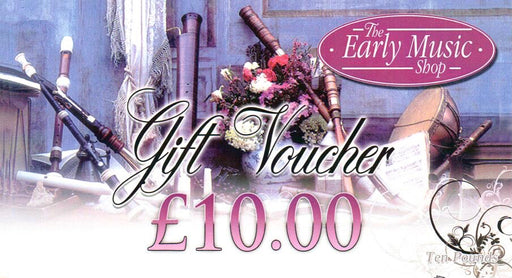 EMS Gift Voucher £10.00 - for use in store only