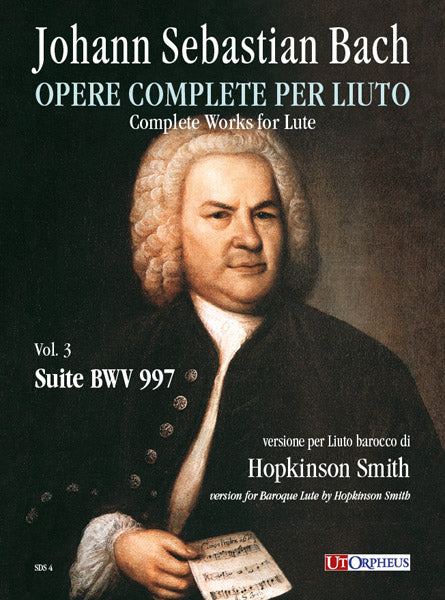Bach, J.S.: Suite (BWV 997) for Baroque Lute