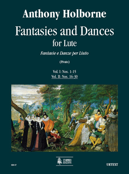 Holborne: Fantasies and Dances for Lute - Volume 2