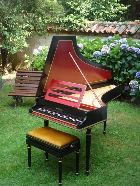 Bizzi Studio 1 Harpsichord 1x8' stop, buff stop and stand
