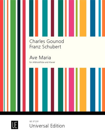 Gounod/Schubert: Ave Maria for Alto or Tenor Recorder and Piano