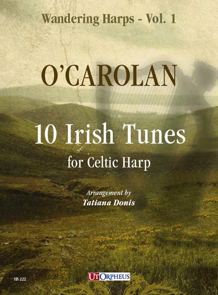 O'Carolan: 10 Irish Tunes for Celtic Harp