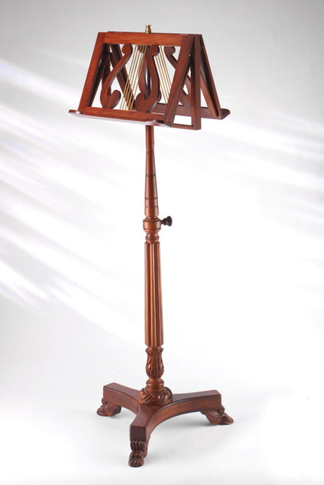 EMS Victoria Double Music Stand in Walnut