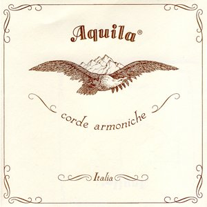 Aquila Bass Viol 1st/D String in Medium Gauge 73HV