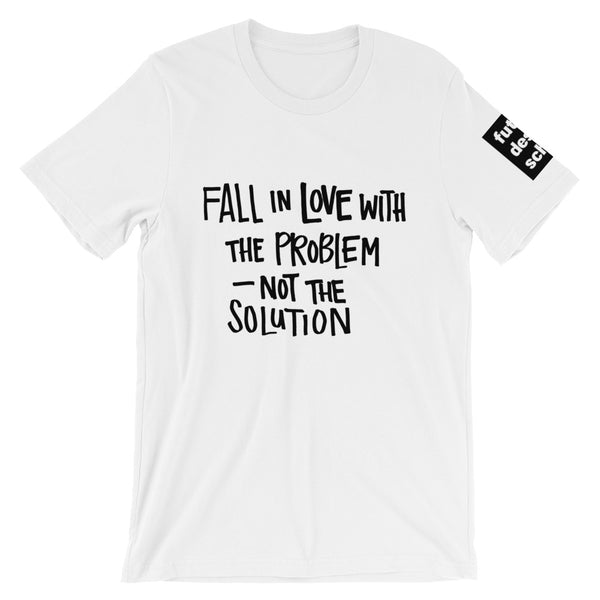 Fall in Love Short-Sleeve Unisex T-Shirt
