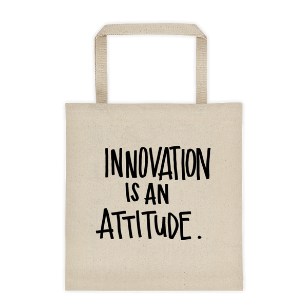 Innovation Attitude Tote bag