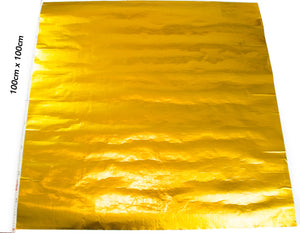 Elite Gold Sheets 100cm x 100cm