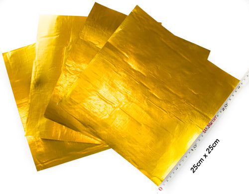 Elite Gold Sheets 25cm x 25cm