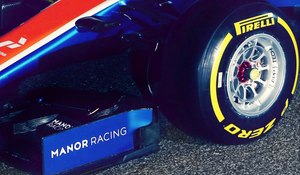 Manor-Mercedes Formula 1 Wheel Nut