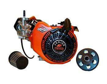 Local Option 206 JR Engine. 4100 rpm. Includes Max Torque Clutch & air filter.
