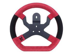 Aim Mychron 5 Steering Wheel-3Hole Mount Red