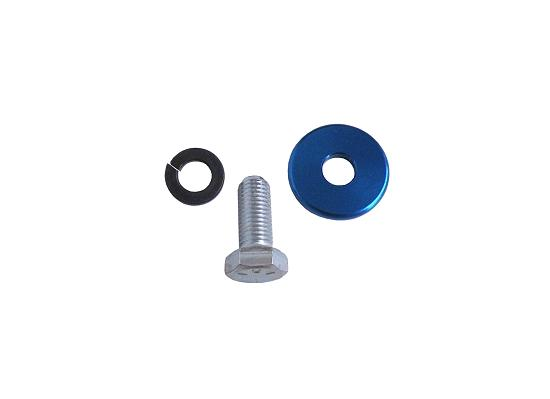 Blue Anodized Clutch Mounting Bolt Kit