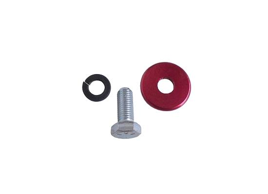Red Anodized Clutch Mounting Bolt Kit