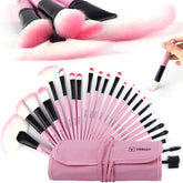 Vander Professional 24/32Pcs Pink Makeup Brush Brushes Set Kit Tools Pinceis Cosmetic Eyeliner Lip Foundation Powder Soft w/Bag