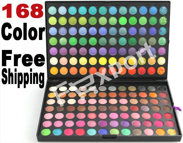 168 Color Eyeshadow Eye Shadow Mineral Cosmetic Professional Makeup Palette Kit