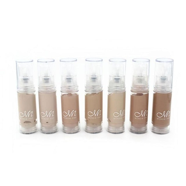 7Pcs/set Face Base BB Cream 7colors Sample Bottle Concealer Cream Whitening Perfect Cover Liquid Makeup Foundation Cream YE10