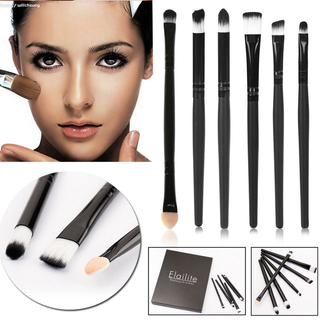 Elailite 10 Pcs Diamond Shape Makeup Brushes Set Foundation Power Cream Blusher Eyeshadow Eyebrow Brushes Beauty Cosmetic Tools