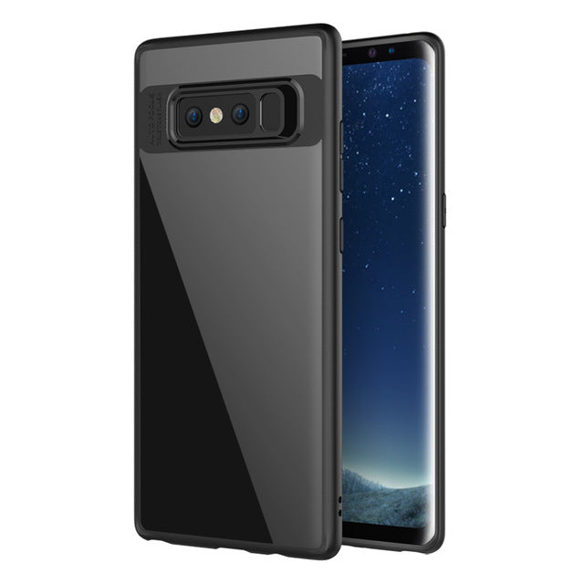 case for samsung note 8 case galaxy note 8 back cover transparent silicone edge MOFi case for samsung galaxy note 8 case cover