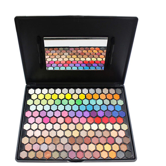 Brand Professional 149 Color Luxury Matte Shimmer Glitter Nude Eyeshadow Pallete Cosmetic Pigment Makeup Eye Shadow Brushes Set