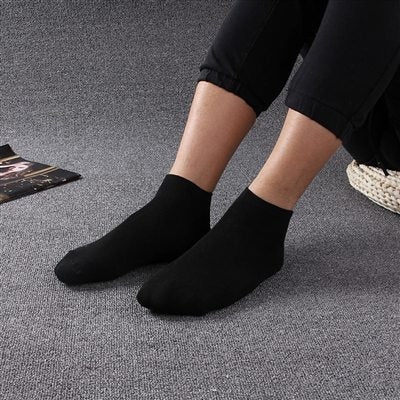 10pair=20Pcs/lot Men Sock Thin Socks Short Deodorize Socks Cotton Men Casual Wear black gray white  Couple Short Sock