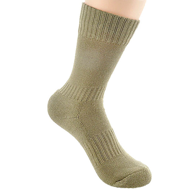3 Size Spring Autumn Military Army Green Men Socks Man Women Sock Solid Color Mens Socks 2 Pairs/lots