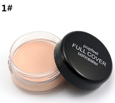 1Piece Popfeel Professional Base Makeup Foundation Face Concealer Hide Blemish Cream Lip/Dark Eye Circle Cover Long Lasting