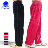 Martial Arts Pants Bloomers Winter Yoga Pants Tai Chi Practise Sports Pants Kung Fu Running trousers Both Men and Women