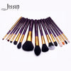 Brushes for makeup 15pcs Makeup Brushes Set Powder Foundation Eyeshadow Concealer Eyeliner Lip Brush Tool T095