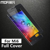 Xiaomi mi6 glass tempered MOFi original xiaomi mi 6 screen protector film full cover xiaomi 6 mi6 tempered glass 5.15 inch