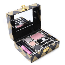 Make Up Set Makeup Palette Shimmer Matte Eye Shadow Face Blush Lip Gloss Eye Pencil with Luminous Mirror Cosmetic Tool