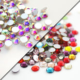 Super Shiny SS6 Nail Rhinestones For Nails Art DIY 3D Manicure Decorations accessoires Non Hot Fix Flat back Strass Crystal