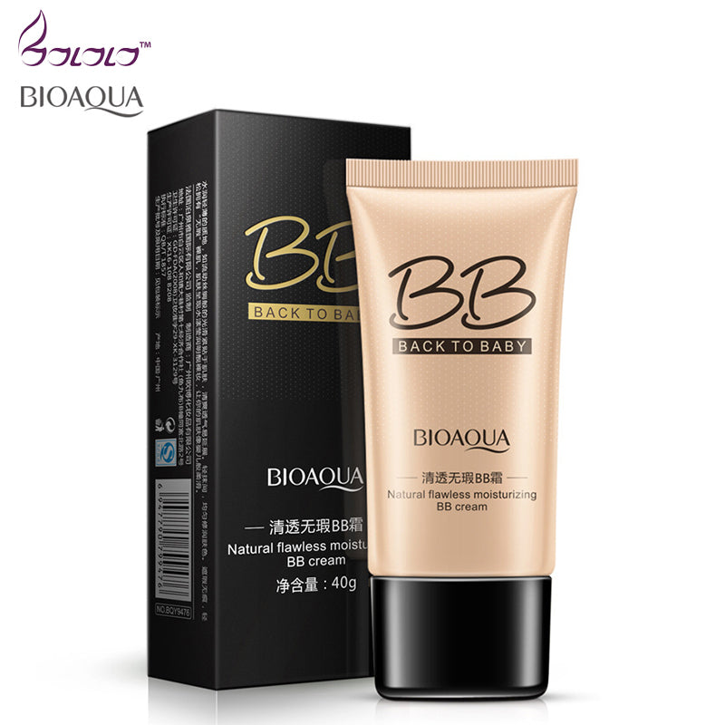 BIOAQUA natural flawless pore cover moisturizing BB & CC Creams whitening beauty face cosmetics foundation makeup base concealer