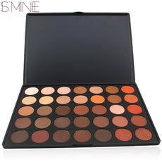 ISMINE 35 Color Eye shadow  Matte Shimmer  make up pallete 35o  eyeshadow palette  cosmetics kit