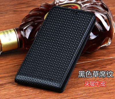 CH06 Genuine Leather Vertical Flip Case For Sony Xperia XA1 Plus Phone Case For Sony Xperia XA1 Plus Up and Down Flip Cover