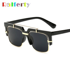 Ralferty Vintage Square Sunglasses Men Retro Brand Sun Glasses UV400 Punk Eyewear Accessories Eyeglasses oculos de sol F97132