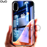 For Apple iPhone X 7 Plus Case 6 6S Plus Cover Transparent Soft TPU Silicon Phone Cases For iPhone SE 8 Plus 5 5S Plastic Shell