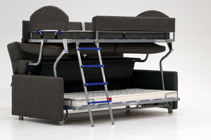Elevate Bunk Bed Sofa Sleeper Luonto Furniture - sofacreations