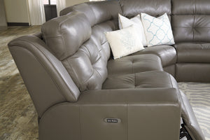 Grove Power Headrest Recliner Sofa - sofacreations