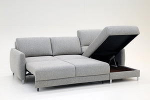 Delta Loveseat Chaise Sleeper Luonto Furniture - sofacreations