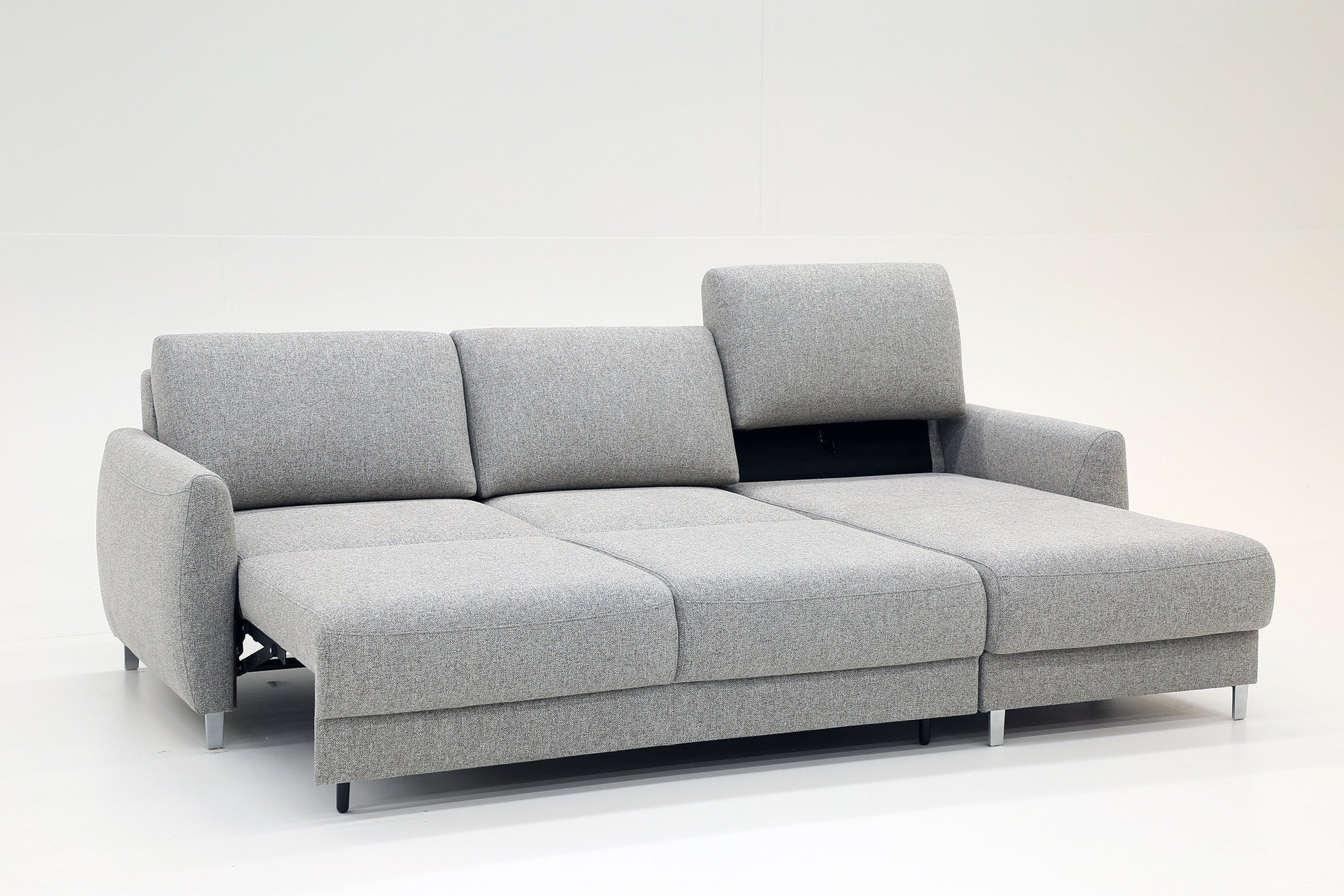 Delta Loveseat Chaise Sleeper Luonto Furniture Sofa Creations