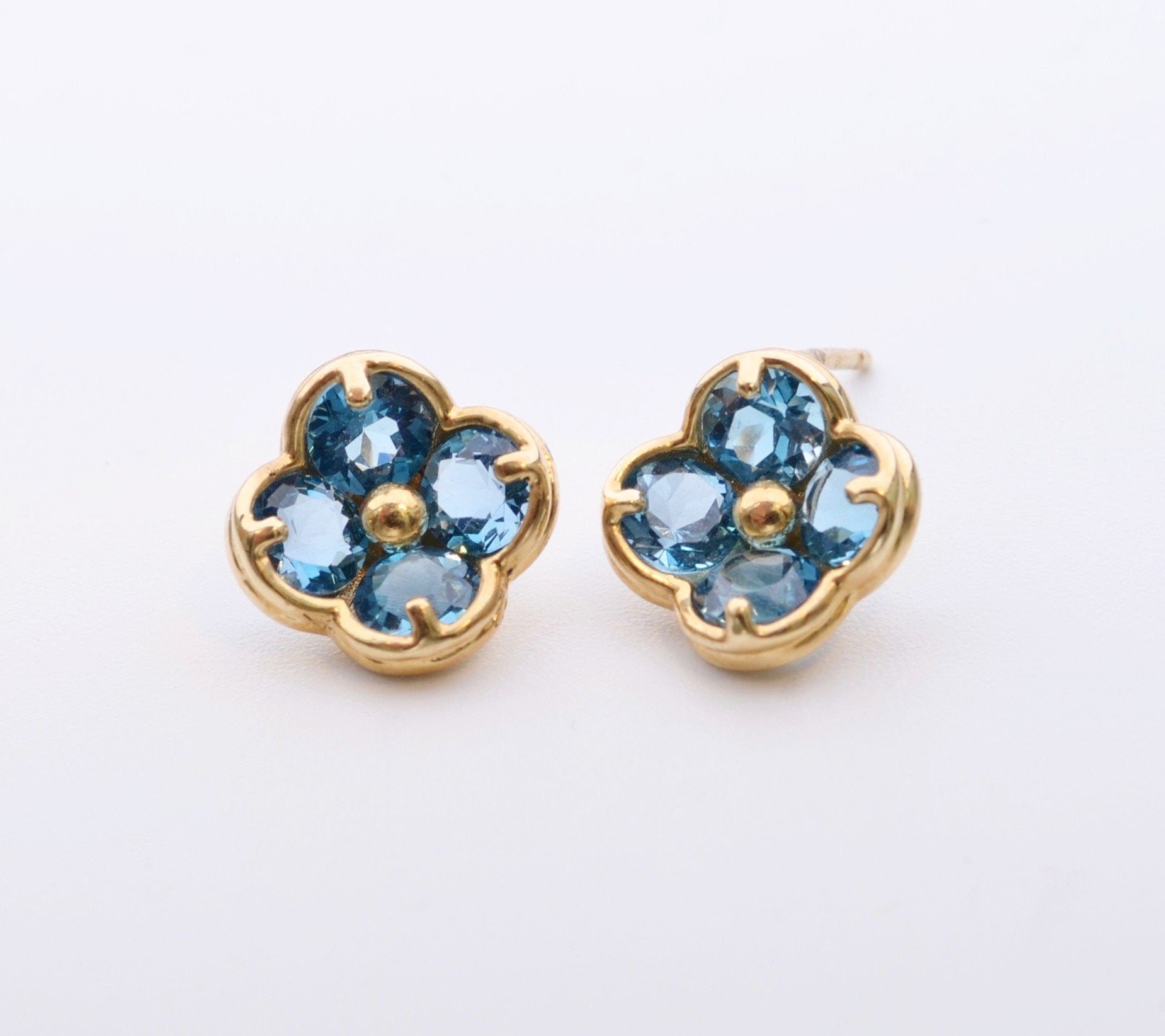 topaz champagne diamonds earrings blue white in and with dabakarov yellow tw abakarov gold
